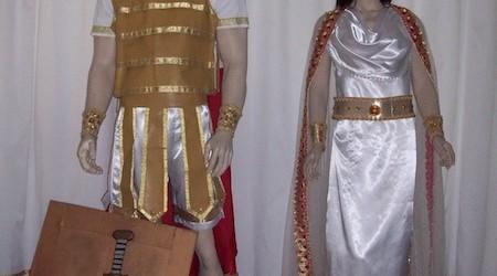 Gladiator dan Putri Yunani