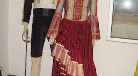 Matador & Senorita, pasangan Spanyol,
