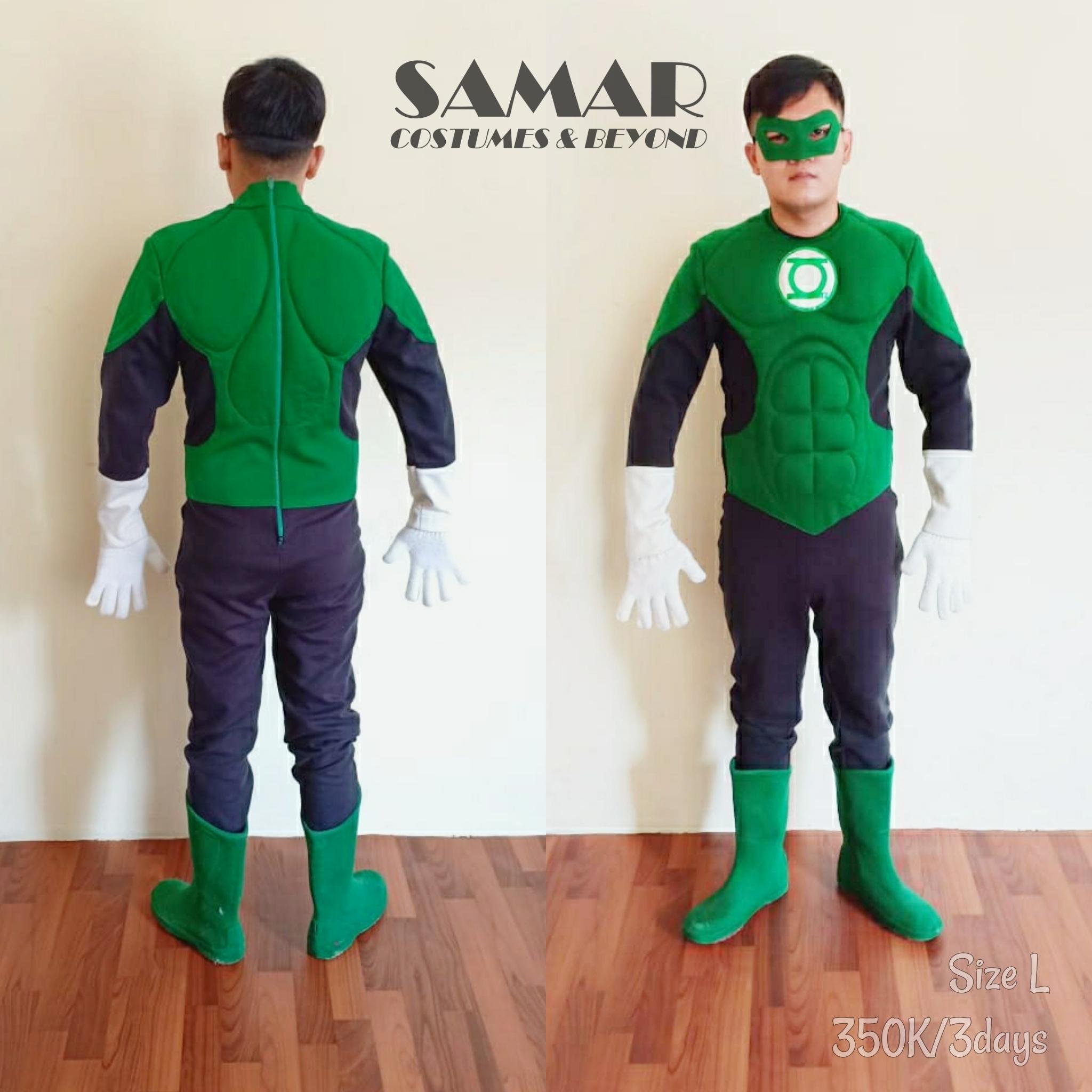 kostum green lantern